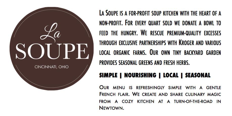 La Soupe Flyer Blurb