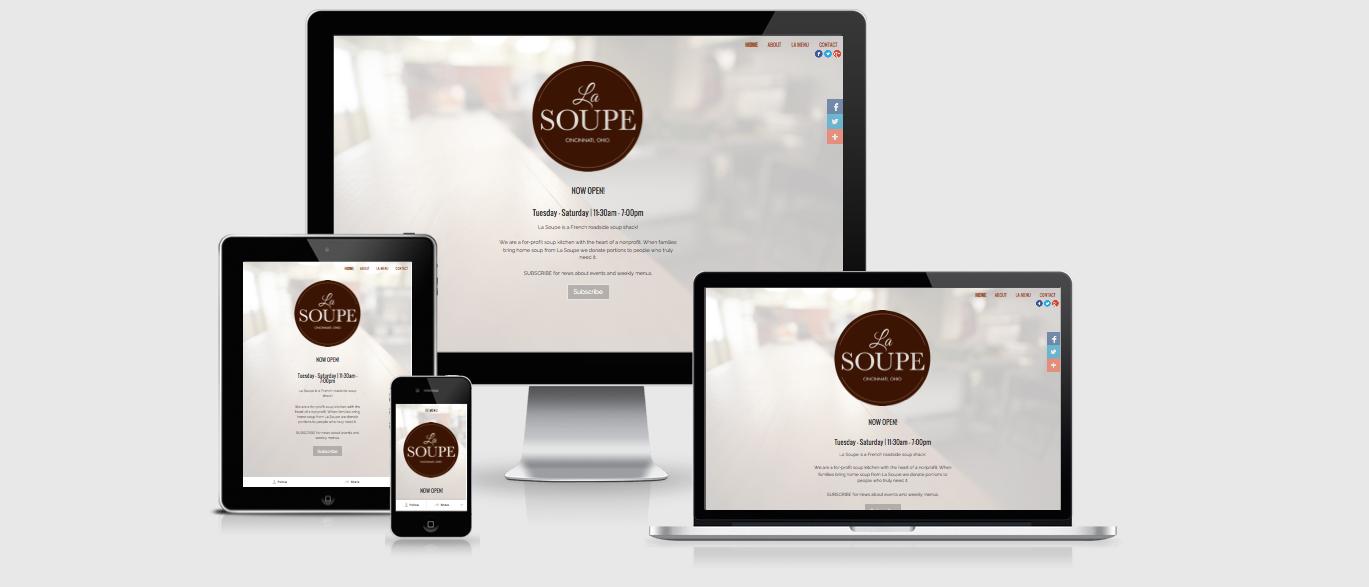 La Soupe Website